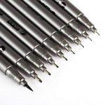 Kesoto Fineliner d'encre Mcro Ensemble de stylos, 9pièces Noir Pigment liner Stylo pour art croquis, écriture, dessin technique de la marque KESOTO image 2 produit