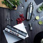 KOOLTHO Set cocktail - Shaker à cocktail avec accessoires de bar. Personnalisez le coffret kit à cocktail avec un message personnel. Votre cadeau d'exception pour Chaque Occasion ! de la marque KOOLTHO image 1 produit