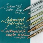 KREUL 47211–Hobby Line Marqueur permanent FINE, pointe ogive, 1–2mm, noir de la marque KREUL image 2 produit