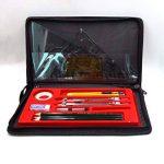 La haute Fournitures de dessin technique Compas de géométrie Skeching règles de crayon avec étui de rangement Drawing tool set de la marque LA HAUTE image 2 produit