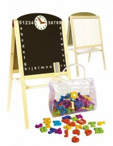 Leomark Tableau Multifonctions Avec Accessoires Tableau Double Face Enfant Tableau Magnétique Tableau En Bois Jouet Educatif de la marque Leomark image 0 produit