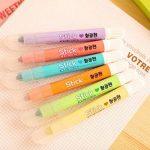 Lot de 6surligneurs gel Lot, solide Gel surligneurs Couleurs assorties multicolore de la marque Gaocheng image 2 produit