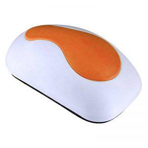 Magnetic Eraser Brosse Effaceurs Magnétique Tableau Blanc pour Effaçables à Sec Stylos et Marqueurs, 4.72 x 2.36 x 1.57 Pouces (Orange) de la marque Mudder image 0 produit
