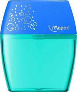 Maped 534755 - taille-crayons (Manuel, Multicolore, Plastique) de la marque Maped image 0 produit