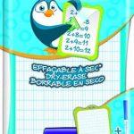 Maped Ardoise effaçable à sec avec porte accessoire + feutre - Coloris aléatoire de la marque Maped image 3 produit