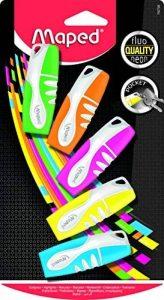 Maped Fluo'Peps Pocket 742728 Blister de 5 Surligneurs de la marque Maped image 0 produit