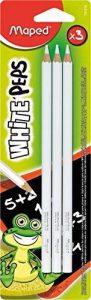 Maped Peps M731310–Lot de 3 craies blanches de la marque Maped image 0 produit