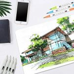 Marker stylos, Chuangmeida 60 couleurs crayons aquarelle Art Brush Stylos Set crayons crayons Surligneurs avec Dual Tip pour manga comic dessin, peinture, écriture, livres à colorier Bullet Journal Art Projects de la marque Chuangmeida image 4 produit