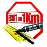 marqueur ecrit métal TOP 0 image 2 produit