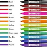 marqueur permanent de couleur TOP 7 image 1 produit