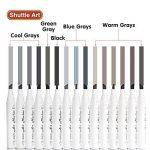 marqueur permanent gris TOP 6 image 3 produit