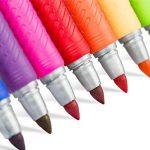Marqueurs permanents BIC en plusieurs couleurs assorties, pointe fine, lot de 12 de la marque BIC image 4 produit
