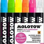 Molotow 200471Set GrafX UV de 6marqueurs de la marque Molotow image 2 produit