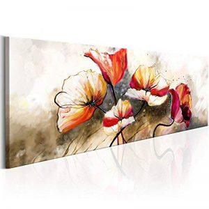 murando - Impression sur toile - 135x45 cm - 1 Piece - Image sur toile - Images - Photo - Tableau - motif moderne - Décoration - tendu sur chassis - Fleurs b-A-0340-b-a de la marque BD XXL image 0 produit