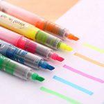 Newdoer Liquid-ink Surligneur pointe, robuste, encre à base d'eau, 5couleurs de la marque Newdoer image 1 produit