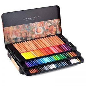 Newdoer Marco Renoir Boîte en étain de 100crayons de couleur type pastels de la marque Newdoer image 0 produit
