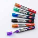 Nobo Marqueur effaçable à sec Liquid Ink, Pointe ogive, Coloris assortis, Lot de 12 de la marque Nobo image 3 produit