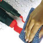 Pentel Arts Wet Erase marqueurs craie, Standard, à pointe biseautée Blanc d'encre, 1lot de 4marqueurs de la marque Pentel image 3 produit
