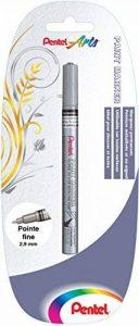 Pentel MSP10x1Z Marqueur Déco Permanent Pointe fine Argent de la marque Pentel image 0 produit