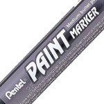 Pentel Paint Marker Lot de 12 Marqueurs permanents MMP20 Encre peinture Gris de la marque Pentel image 1 produit