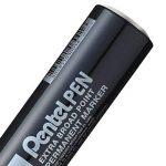 Pentel Pen N50XL-A Lot de 6 Marqueurs permanents pointe biseautée extra large Noir de la marque Pentel image 2 produit