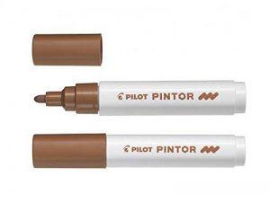 Pilot Pintor fine Line Bullet marqueur peinture Medium marron de la marque Pilot image 0 produit