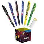 Pilot - Pot à crayons collector FriXion Ball et FriXion Clicker - Roller effaçable - 7 pièces (rollers, surligneurs & gomme) - Pointe moyenne de la marque Pilot image 1 produit