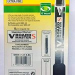 Pilot V-Board Master S 3,5mm Pointe extra fine marqueur pour tableau blanc avec effaceur–Noir (boîte de 10) de la marque Pilot image 2 produit