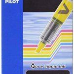Pilot V-Light Lot de 12 Surligneur de poche Pointe biseautée Encre liquide Vert de la marque Pilot image 1 produit