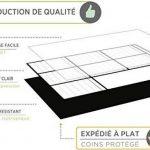 Planning Semaine Format A3 Pour Frigo Par Plan Smart - Calendrier hebdomadaire Tableau Blanc Magnétique - BONUS: 3 Marquers De Qualité de la marque Plan Smart image 2 produit