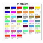 Posca 153544854 Lot de 8 Marqueurs peinture avec encre à base d'eau et pointe ogive 2,5mm de la marque Posca image 3 produit