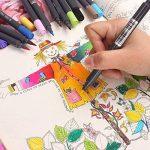 PuTwo aquarelle Peinture Brosse Lot de stylos pour des livres de coloriage pour adulte Bullet Journal prise de note Dessin Planning, d'art Project de la marque PuTwo image 1 produit