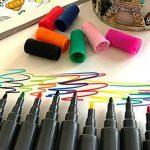 PuTwo aquarelle Peinture Brosse Lot de stylos pour des livres de coloriage pour adulte Bullet Journal prise de note Dessin Planning, d'art Project de la marque PuTwo image 2 produit