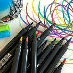 PuTwo aquarelle Peinture Brosse Lot de stylos pour des livres de coloriage pour adulte Bullet Journal prise de note Dessin Planning, d'art Project de la marque PuTwo image 4 produit