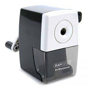 Rapesco Taille Crayon de Bureau 64 Résistant avec Pince Bureau et Réservoir Noir de la marque Rapesco image 0 produit