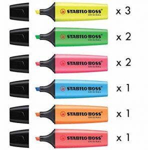 recharge surligneur stabilo TOP 12 image 0 produit