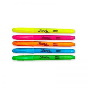 Sharpie Accent Pocket Style Surligneur 5-Pack Couleurs assorties de la marque Sharpie image 0 produit