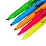 Sharpie Accent Pocket Style Surligneur 5-Pack Couleurs assorties de la marque Sharpie image 2 produit