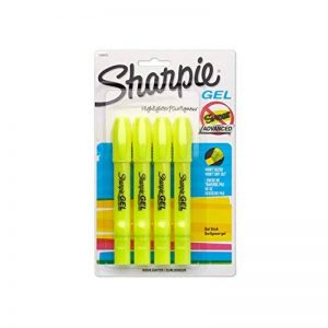 Sharpie Accent surligneurs gel 4-Count jaune fluo de la marque Sharpie image 0 produit