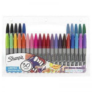 Sharpie Marqueur permanent, pointe fine, Lot de 30édition limitée de la marque Sharpie image 0 produit