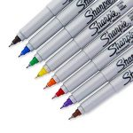 Sharpie Ultra Fine Point Permanent Markers, 8 Colored Markers(37600PP) by Sharpie de la marque Sharpie image 2 produit