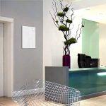 Smart Glass Board ® 60 x 40 cm , Blanc, Tableau magnétique en verre / Mémo magnétique / Tableau d'affichage + 2 Aimants, UltraClear ® Glass de la marque GlasExpert - Glas für Haus image 2 produit