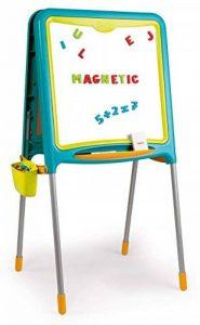 Smoby Toys- Tableau Tubes, Ardoise double face, Magnétique / Craie, + 80 Accessoires Inclus de la marque Smoby image 0 produit