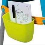 Smoby Toys- Tableau Tubes, Ardoise double face, Magnétique / Craie, + 80 Accessoires Inclus de la marque Smoby image 3 produit