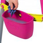 Smoby Toys- Tableau Tubes, Ardoise double face, Magnétique / Craie, + 80 Accessoires Inclus de la marque Smoby image 4 produit
