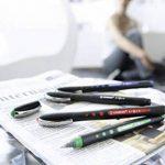 STABILO bl@ck+ - Lot de 10 stylos rollers pointe médium à encre liquide - Bleu de la marque STABILO image 3 produit
