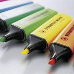 STABILO BOSS Big Boss Lot de 48 surligneurs 6 jaunes, 6 bleus, 6 verts, 6 rouges, 6 turquoises, 6 orange, 6 roses et 6 violets de la marque STABILO image 1 produit