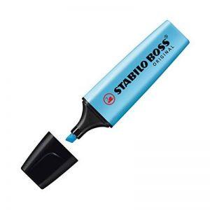 STABILO BOSS ORIGINAL - Lot de 10 surligneurs - Bleu de la marque STABILO image 0 produit