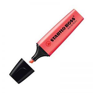 STABILO BOSS ORIGINAL - Lot de 10 surligneurs - Rouge de la marque STABILO image 0 produit