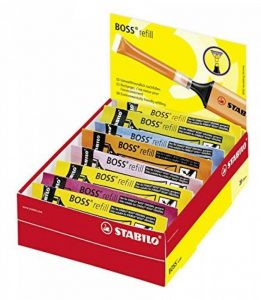 STABILO BOSS ORIGINAL - Lot de 20 recharges - Coloris assortis de la marque STABILO image 0 produit